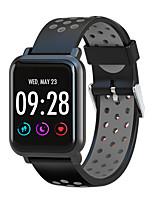 Недорогие -Смарт Часы Цифровой Современный Спортивные силиконовый 30 m Защита от влаги Пульсомер Bluetooth Цифровой На каждый день На открытом воздухе - Черный / Желтый Черный / Синий Черный / серый