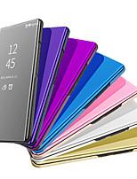 Недорогие -чехол для apple iphone xr iphone xs max флип-зеркало чехлы для всего тела однотонные жесткие ПК для iphone xs iphone 8 plus iphone 8 iphone 7 plus iphone 7