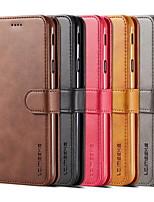 Недорогие -откидная крышка кошелька для samsung galaxy s9 plus s10 plus мода унисекс студент бизнес кожаный телефон защитный чехол s9 s10 s10e s10plus note9 note8 s8 s8 plus s7 s7 edge s6 s6 edge