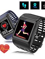 Недорогие -Z01 умный браслет измерения артериального давления браслет сердечного ритма спортивные часы водонепроницаемый цветной экран smartband фитнес-трекер