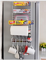 Недорогие -Высокое качество с Железо Аксессуары для шкафов Для приготовления пищи Посуда Кухня Место хранения 2 pcs