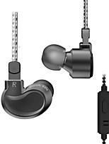 Недорогие -Наушники-вкладыши bqeyz k1 тройные наушники с высоким разрешением и микрофоном