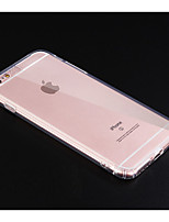 Недорогие -чехол для apple iphone xs / iphone xs max противоударная задняя крышка сплошной цветной мягкий тпу для iphone iphone 7 / iphone 7 plus / iphone 8 / iphone 8 plus / iphone x / iphone xr / iphone xs /