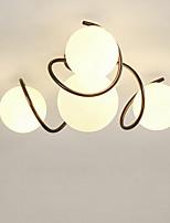 Недорогие -4-Light Спутник / Шары Потолочные светильники Рассеянное освещение Окрашенные отделки Металл Стекло Матовая, Творчество 110-120Вольт / 220-240Вольт