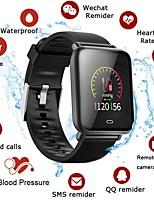 Недорогие -Stq9 смарт-часы артериальное давление сердечного ритма сна монитор фитнес trakcer спорт мужчины женщины браслет для android ios