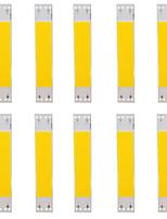 Недорогие -10 шт. COB 9 V Аксессуары для ламп / Газонокосилка Алюминий LED чип для светодиодных прожекторов 5 W / 50 W