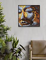 Недорогие -Отпечаток в раме Набор в раме - Религиозная тематика Полистирен Фотографии Предметы искусства