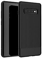 Недорогие -Кейс для Назначение SSamsung Galaxy Galaxy S10 / Galaxy S10 Plus / Galaxy S10 Lite Защита от удара Кейс на заднюю панель Однотонный Мягкий ТПУ