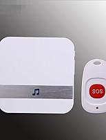 Недорогие -Умный дом Беспроводной DC Сигнализация старый абонент месяц по уходу за детьми беспроводной пульт дистанционного управления дверной звонок один на один