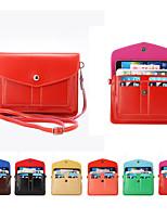 Недорогие -6,3-дюймовый чехол для универсальной сумки на ремне / держателя карты сплошной мягкой кожи