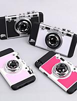 Недорогие -Кейс для Назначение Apple iPhone XS / iPhone XR / iPhone XS Max со стендом Кейс на заднюю панель 3D в мультяшном стиле Твердый ТПУ
