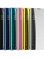 Недорогие -чехол для яблока iphone 8 / iphone x авто сна / пробуждение / переворачивание чехлы для всего тела сплошные цвета для ip для iphone 6 / iphone 6 plus / iphone 6s для iphone 6 / iphone 6 plus / iphone