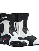 Недорогие -мужские ботинки для мотогонок кожаные ботинки для мотоциклов верховая езда на мотоцикле мотокросс внедорожные ботинки
