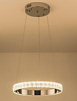 Недорогие -квадратный круг хрустальные люстры современная гостиная лампа подвесной светильник подвесные светильники светильники освещения потолочные светильники комнатные светильники 110-120 В / 220-240 В