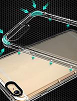 Недорогие -для iphone 7/8 / 7plus / 8plus / x / 6 / 6s / i5 / 5s / se прозрачный тп ударопрочный полная защита задняя крышка бухта