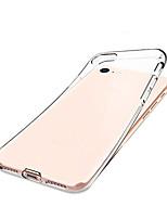 Недорогие -Кейс для Назначение Apple iPhone 8 / iPhone 7 Защита от удара Кейс на заднюю панель Прозрачный Мягкий ТПУ