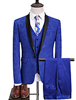 cheap -Tuxedos Slim Fit Shawl Collar Single Breasted One-button Polyester Jacquard