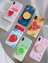 Недорогие -чехол для яблока iphone xs / iphone xr / iphone xs max с подставкой задней крышки для еды жесткий ПК для iphone 6s / iphone 6s plus / iphone 7