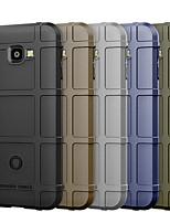 Недорогие -Кейс для Назначение SSamsung Galaxy J4 Защита от удара Кейс на заднюю панель Однотонный Мягкий ТПУ