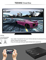 Недорогие -T95 Max Android 8.1 H6 Quadcore Cortex-A53 Wi-Fi ТВ-плеер HD Media Player