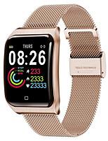 Недорогие -F9 Универсальные Умные браслеты Android iOS Bluetooth Водонепроницаемый Пульсомер Измерение кровяного давления Регистрация дистанции Информация
