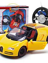 Недорогие -Машинка на радиоуправлении 8885 10.2 CM 27MHz Автомобиль (дорожный) 1:24 Бесколлекторный электромотор 10 km/h USB-концентратор / Беспроводной