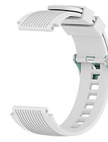 Недорогие -Ремешок для часов для Samsung Galaxy Watch 46 / Samsung Galaxy Watch 42 Samsung Galaxy Спортивный ремешок силиконовый Повязка на запястье