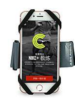 Недорогие -Кейс для Назначение Apple iPhone XS / iPhone XR / iPhone XS Max Нарукавная повязка С ремешком на руку Однотонный Мягкий силикагель