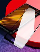 Недорогие -Защитная пленка для экрана xiaomi pocophone f1 из закаленного стекла 1 шт. Передняя защитная пленка для экрана высокой четкости (HD) / взрывозащищенный / ультра тонкий
