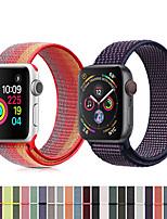 Недорогие -Нейлон петля ремешок для часов браслет ремешок на запястье для Apple, часы серии 4/3/2/1 умные часы