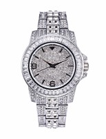 cheap -Women's Quartz Watches Quartz Stylish Fashion Adorable Analog White+Gold Gold Silver / One Year
