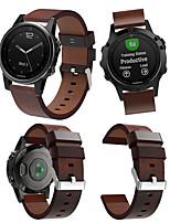 Недорогие -Ремешок для часов для Fenix 5s / Fenix 5s Quickfit Garmin Кожаный ремешок Кожа Повязка на запястье