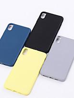 Недорогие -чехол для apple iphone 7 / iphone 7 plus / iphone xs противоударная задняя крышка из цельного мягкого пластика для iphone 7 / iphone 7 plus / iphone 8/8 plus / x / xs / xs max