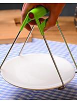 abordables -outils en plastique en acier inoxydable tong outils portables ustensiles de cuisine isolés à la chaleur outils cuisine 1pc