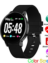 Недорогие -r5s спортивные часы монитор сердечного ритма сна монитор артериального давления фитнес-трекер android ios управления музыкой цветной экран полосы
