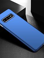 Недорогие -ультра тонкий анти-отпечатков пальцев и минималистский жесткий чехол для телефона для Samsung Galaxy S10 / Galaxy S10 Plus / Galaxy S10 E / Galaxy S10 5 г