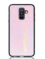 Недорогие -Чехол Nillkin для Samsung Galaxy J4 (2018) / Galaxy J7 (2018) блестящий блеск / противоударный / пылезащитный задняя крышка блестящий блеск мягкого ТПУ для J4 (2018) / J4 Plus / J6 (2018)