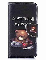 Недорогие -Кейс для Назначение SSamsung Galaxy S9 / S9 Plus / S8 Plus Кошелек / Бумажник для карт / со стендом Чехол Слова / выражения Твердый Кожа PU