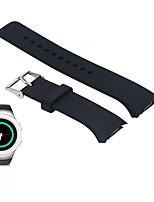 Недорогие -Ремешок для часов для Gear S2 Samsung Galaxy Спортивный ремешок силиконовый Повязка на запястье