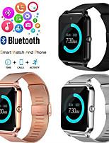 Недорогие -Z60 умные часы для мужчин фитнес-браслет ip67 водонепроницаемый с гнездом для сим-карты женщины часы SmartWatch для Apple IOS Android телефон