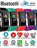 Недорогие -Смарт Часы Цифровой Современный Спортивные силиконовый 30 m Защита от влаги Пульсомер Bluetooth Цифровой На каждый день На открытом воздухе - Черный Лиловый Зеленый