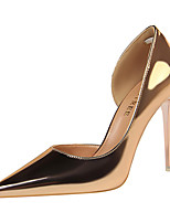 cheap -Women's Heels Stiletto Heel Pointed Toe Synthetics Sweet / Minimalism Fall / Spring & Summer Black / Champagne / Gold / Party & Evening