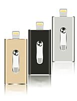 Недорогие -Литбест otg USB флэш-накопитель применяется к Apple Android USB 3 в 1 металлический диск-16 ГБ