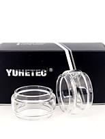 Недорогие -Yuhetec замена лампы стеклянная трубка для профиля wotofo Unity RTA 6,5 мл 2 шт.