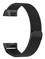 Недорогие -Ремешок для часов для Fitbit Charge 3 Fitbit Современная застежка силиконовый Повязка на запястье