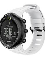 cheap -Watch Band for SUUNTO CORE Suunto Sport Band Silicone Wrist Strap
