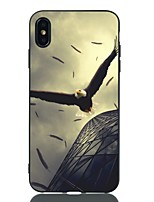 Недорогие -Кейс для Назначение Apple iPhone XS / iPhone XR / iPhone XS Max Защита от удара / С узором Кейс на заднюю панель Животное Мягкий ТПУ
