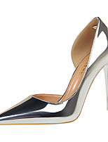 cheap -Women's Wedding Shoes Stiletto Heel Pointed Toe Synthetics Sweet / Minimalism Fall / Spring & Summer Black / Champagne / Gold / Party & Evening