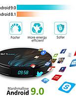 Недорогие -Android 9.0 Smart TV Box Google помощник RK3328 ТВ-приемник 4K Wi-Fi Media Player Play Store бесплатные приложения быстро установить приставку