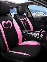 Недорогие -накидка на автомобильное сиденье дышащая гречневая льняная четырехсезонная автомобильная подушка на пять сидений / общий мотор чехлы на сиденья молодежный стиль